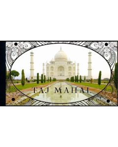 1092 World Heritage - Taj Mahal Booklet