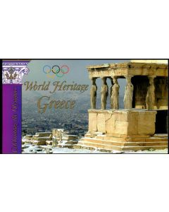868 Booklet World Heritage - Greece