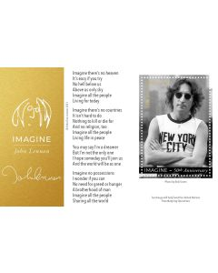 2021 John Lennon Souvenir Sheet - NY - COMING SOON !