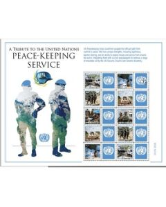 1242 PEACEKEEPERS PERSONALIZED SHEET