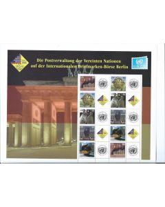 903B-907B Berlin Personalized Sheet (S14)