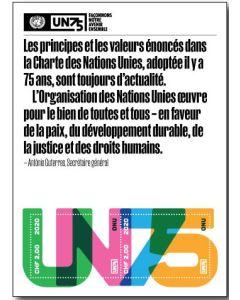 75th Anniversary Souvenir Sheet - GEN