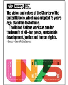 75th Anniversary Souvenir Sheet - NY