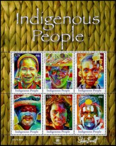 Indigenous People Miniature Sheet