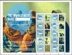 1071 Humanitarian Day Personalized Sheet