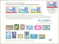 UN11 Souvenir Card FDC - Geneva