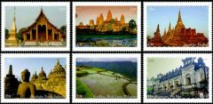 1115 a-f Southeast Asia Booklet Singles