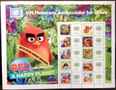 1131 Angry Birds Personalized Sheet