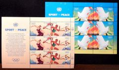 1137-1140 Miniature Sheets of 6