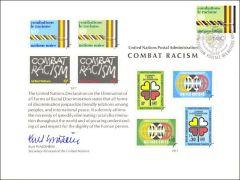 UN12 Souvenir Card FDC - Geneva