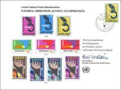 UN13 Souvenir Card FDC - Geneva