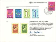 UN16 Souvenir Card FDC  - Vienna