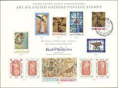 UN2 Souvenir Card - FDC - Geneva