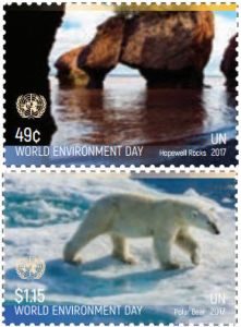1166-1167 World Environment  Day - Sheets of 20