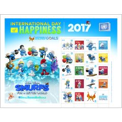 2017 Day of Happiness - NY - Smurfs
