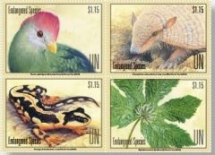 1188-1191 Endangered Species NY Sheet of 16