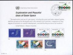 UN22 Souvenir Card FDC - Vienna