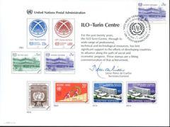UN27 Souvenir Card FDC - Vienna