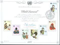 UN28 Souvenir Card - Vienna