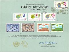 UN5 Souvenir Card FDC - NY