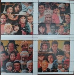 670 a-d Booklet Singles