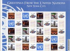 Greetings from the UN - New York City