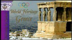 868 Booklet World Heritage - Greece