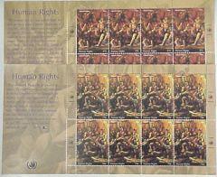 Human Rights Sheets of 8
