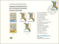 UN9 Souvenir Card FDC - Geneva