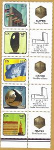 987-991 NAPEX 98 cent Personalized Stamps Strip of 5