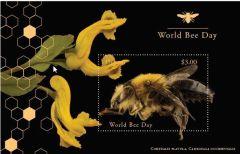 1216 World Bee Day Miniature Sheet