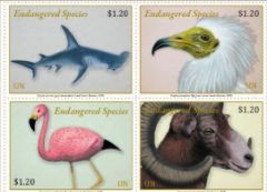 2020 Endangered Species NY - SHEET OF 16