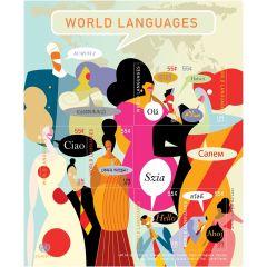 1210 World Languages Miniature Sheet