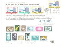 UN11 Souvenir Card FDC - NY