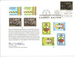 UN12 Souvenir Card FDC - NY
