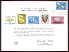 Un3 Souvenir Card FDC - NY