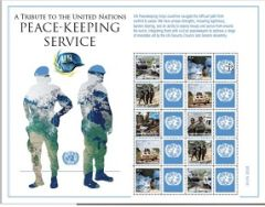 1242 PEACEKEEPERS Single with Label