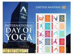 1168 Day of Yoga Personalized Sheet