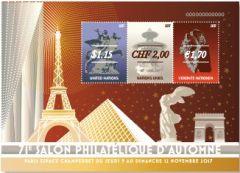 1178 Paris Miniature Sheet