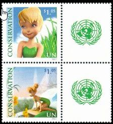 1046-1047 Tinkerbell Singles with label