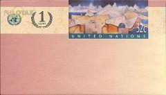 U12 32c + 1c Overlay Envelope