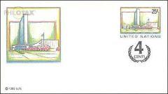 U9 25c + 4c Overlay Envelope