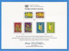 UN 10 Souvenir Card