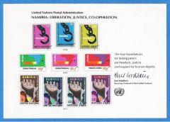 UN 13 Souvenir Card