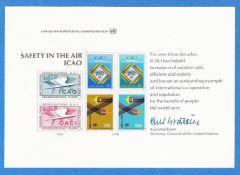UN 14 Souvenir Card