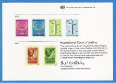 UN 16 Souvenir Card