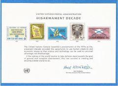 UN 3 Souvenir Card