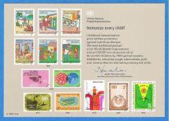 UN 32 Souvenir Card - Vienna FDC