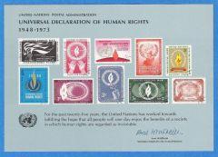 UN 4 Souvenir Card