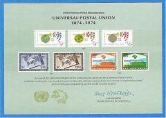 UN 5 Souvenir Card